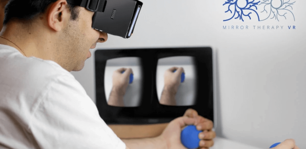 terapia espejo y realidad virtual